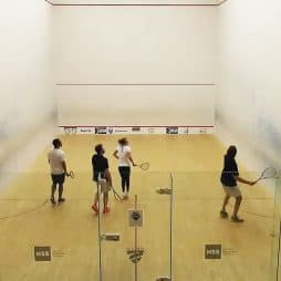 How to Play Doubles Squash
