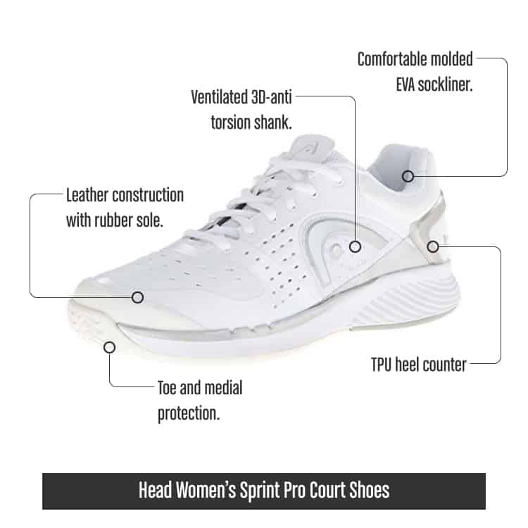 HeadWomensSprintProCourtShoes