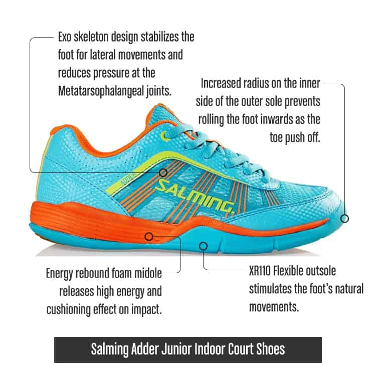 SalmingAdderJuniorIndoorCourtShoes