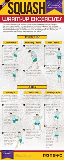 Squash Warm up Excercise