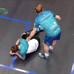 Squash Dislocated Twisted Ankle Injury