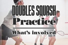 Doubles Squash Practice Whats Involved